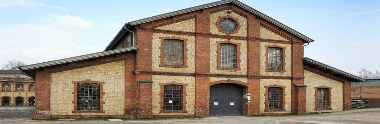 Alte Schmelz-Fabrik in Sankt Ingbert