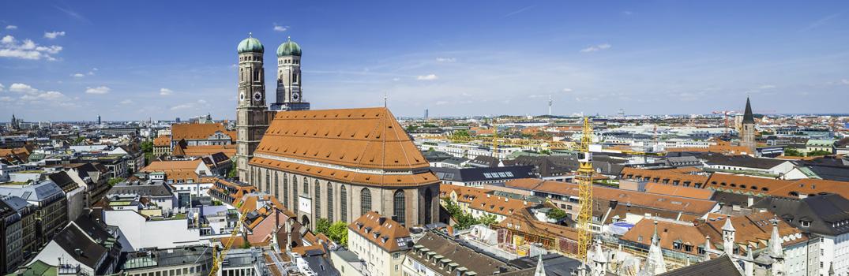 Stadtpanorma von München
